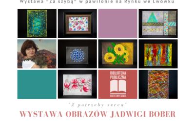 Wystawa  prac Jadwigi Bober